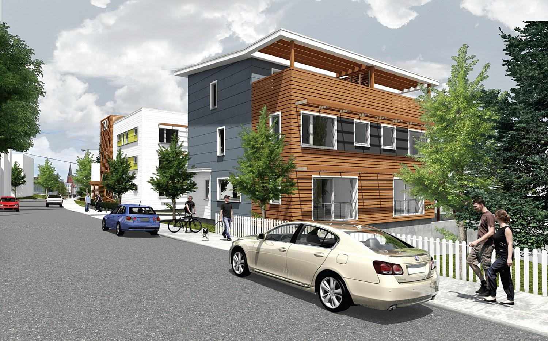 sustainable multi-unit homes Boston
