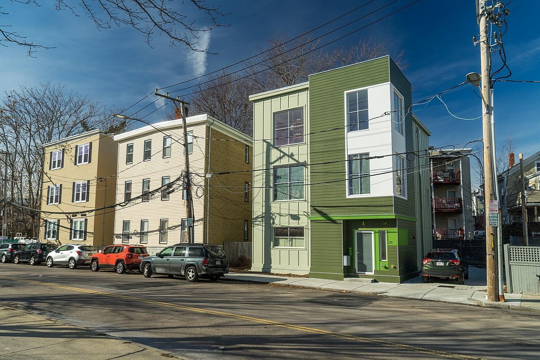 Energy-efficient apartments Boston