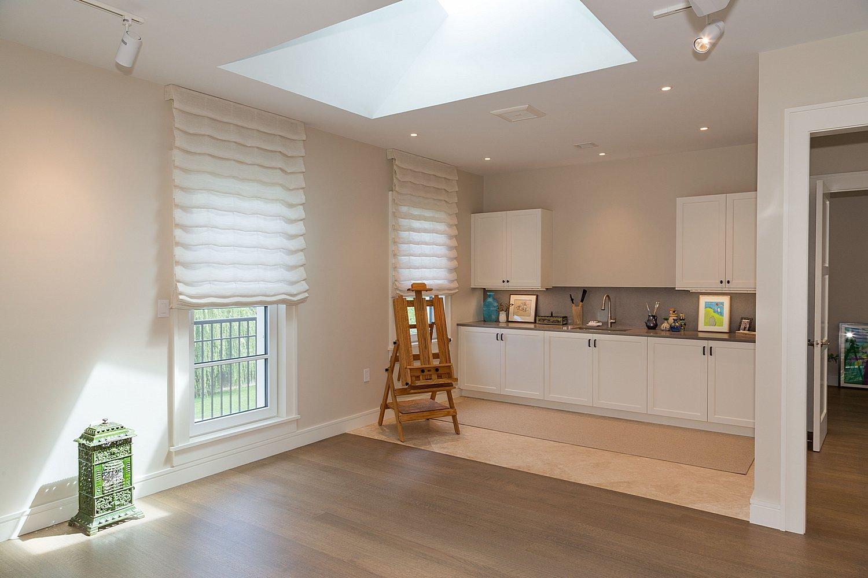 Low-energy house interior