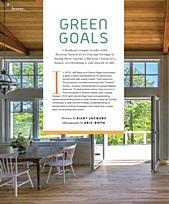 Chatham Magazine   Green Goals