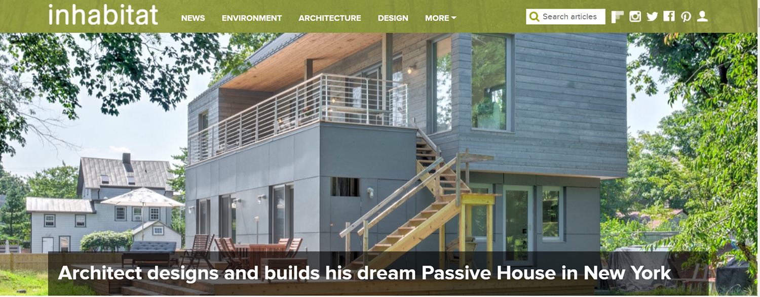 Passive house in New York
