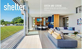 Ocean Home Magazine    Shelter - Green and Serene