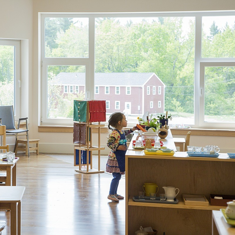 First Certified Passive House Elementary School in the US