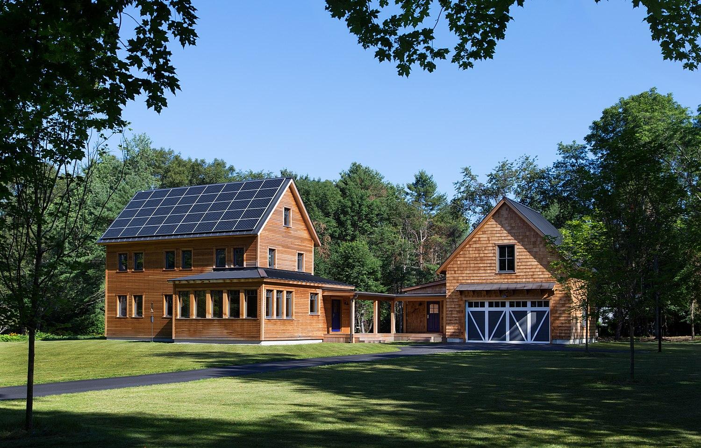 Passive House Aligned Net-Positive Home in Lincoln, Massachusetts