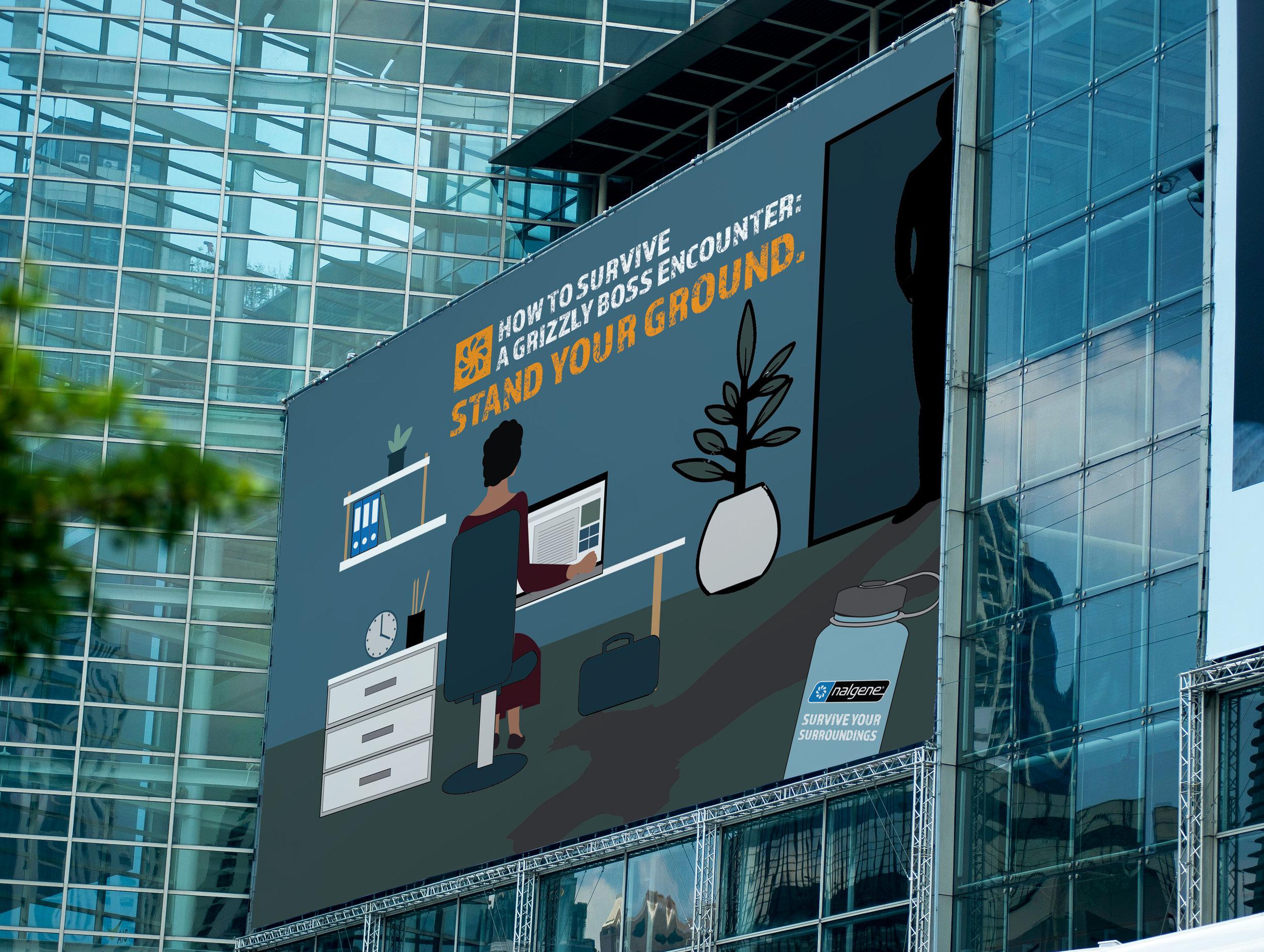 Billboard on office .jpg