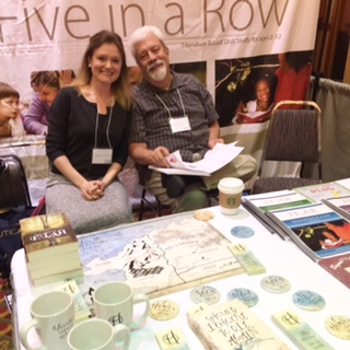 My friend Steve Lambert and me at a convention in Springfield, Missouri. Photo cred: Jane Lambert, author extraordinaire.
