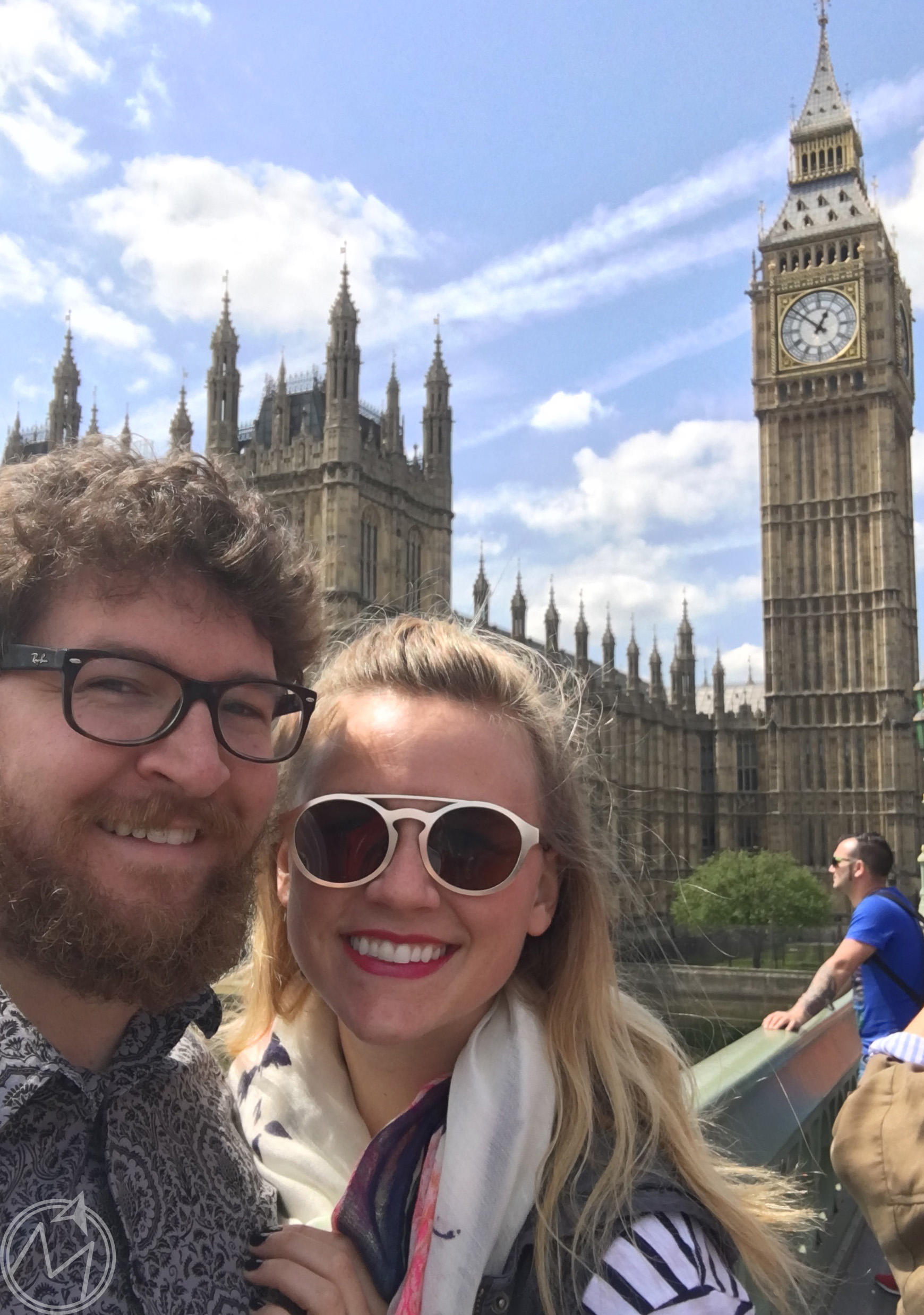 if you're by big ben and you don't take a tourist-y selfie, did you even go?