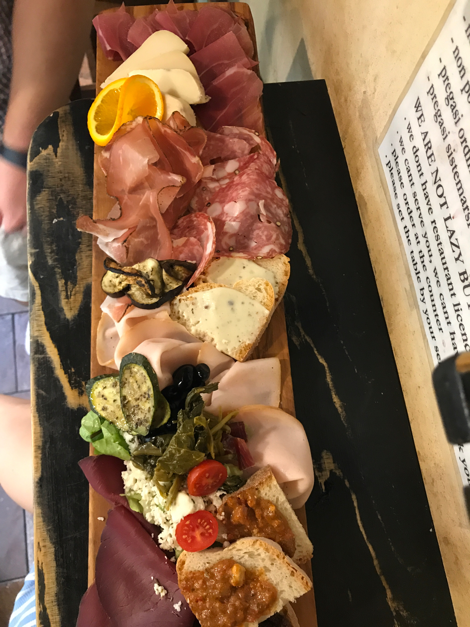 la procutteria trevi was the first place we ate in rome and it did NOT disappoint. build your own charcuterie plate HELLO THANK YOU. it was heaven.