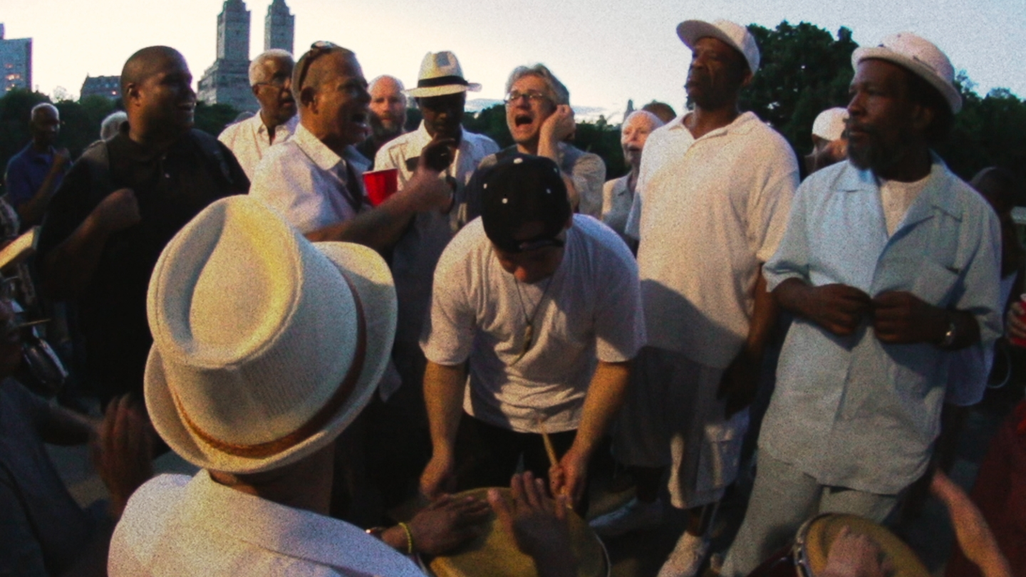 A recurring setting of the film is the Central Park rumba, a decades-long tradition amongst Cuban (and other Latino) exiles in NYC. Many of them are featured in the film as first-time actors.