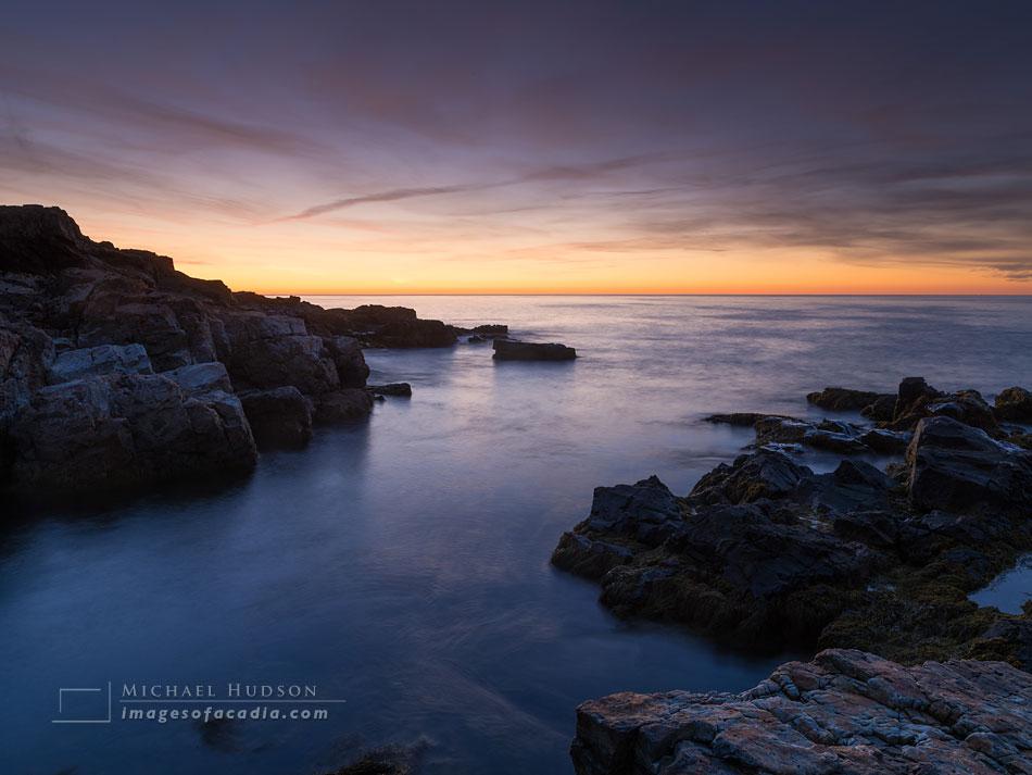 Dawn (twenty-five minutes before sunrise), Hunters Head