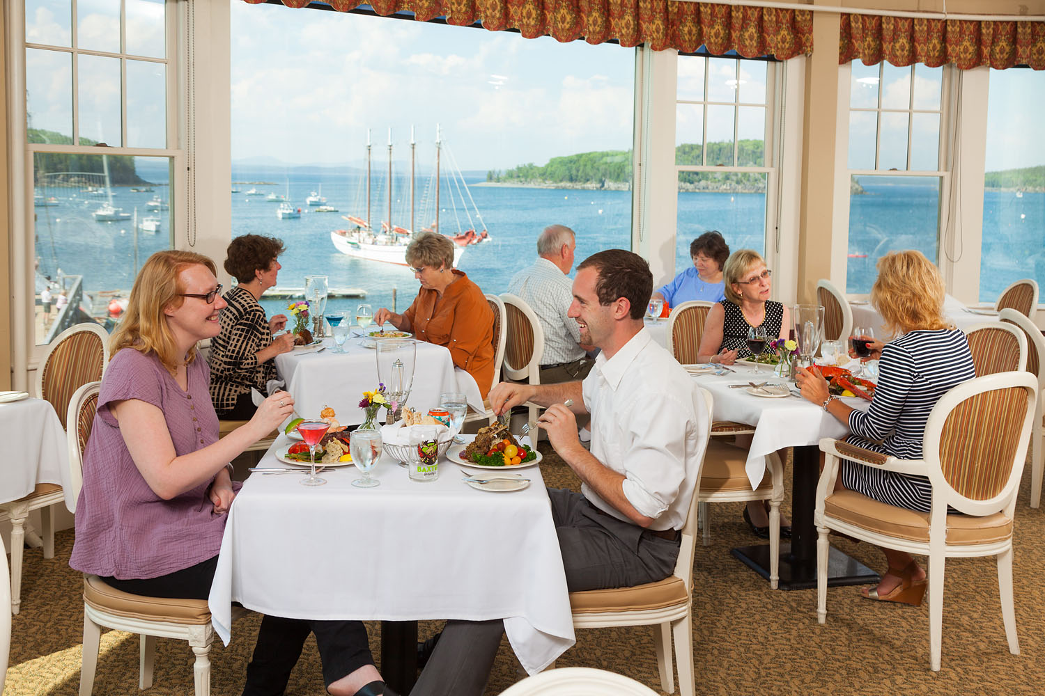 Witham Family Hotels, Bar Harbor, June 2016 (Bar Harbor Inn)