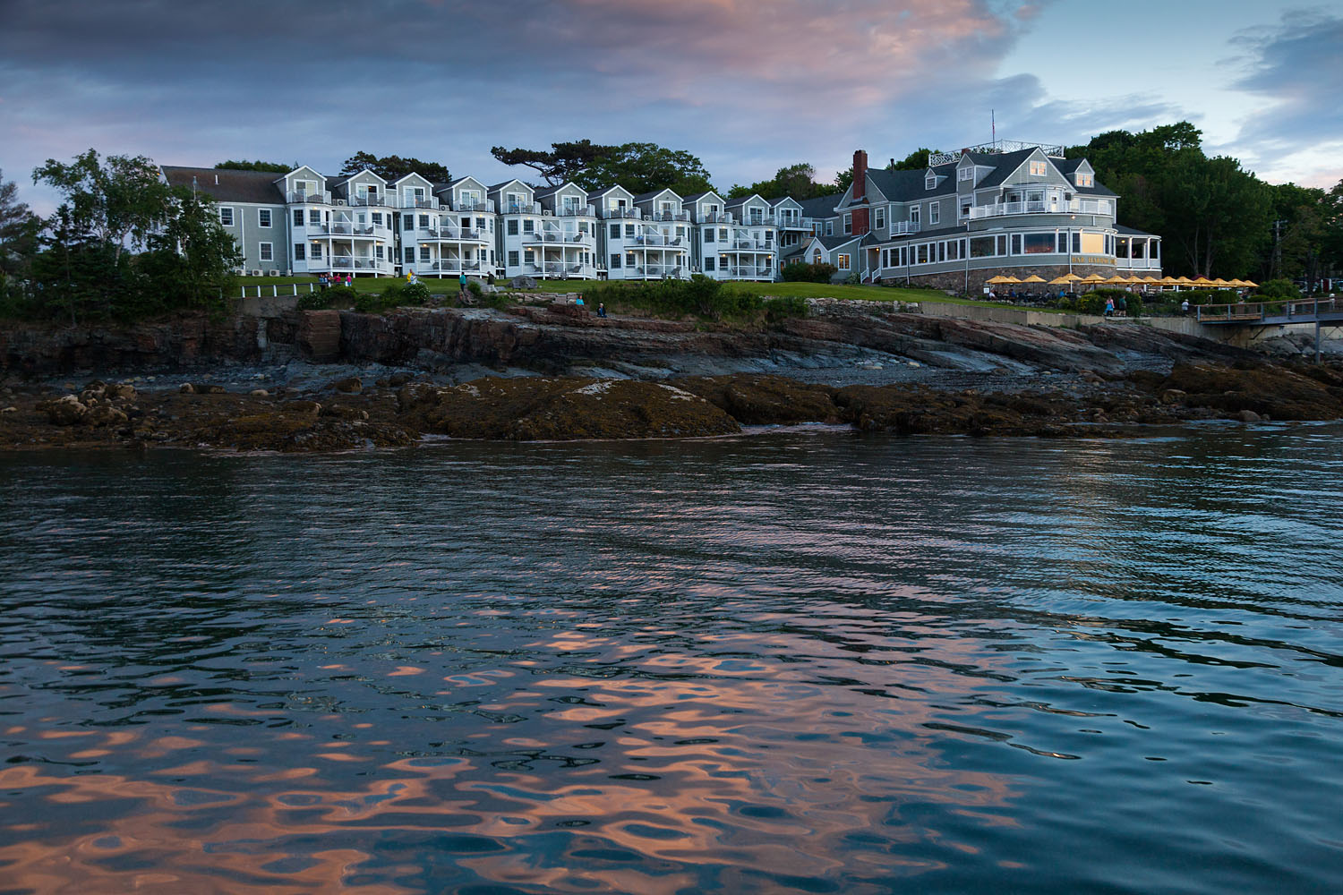Witham Family Hotels, Bar Harbor, June 2016 (Bar Harbor Inn from