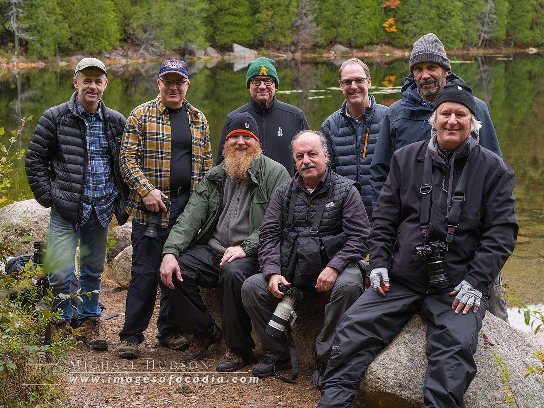 Me, Brad (Alabama), Jay (California/ New York), Colin (Illinois), Mark (Louisiana). Front row: Patrick (Massachusetts), Markos (Mexico) and Bill (Minnesota). Not pictured, Don (Missouri)