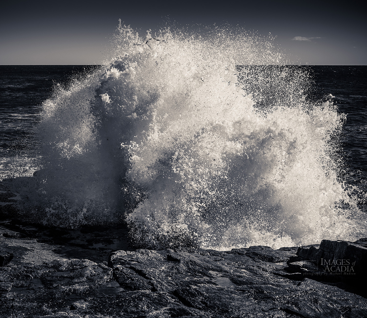 Waves, Schoodic Point