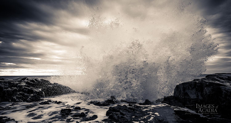 Rugged Maine Coast at Hunters Head