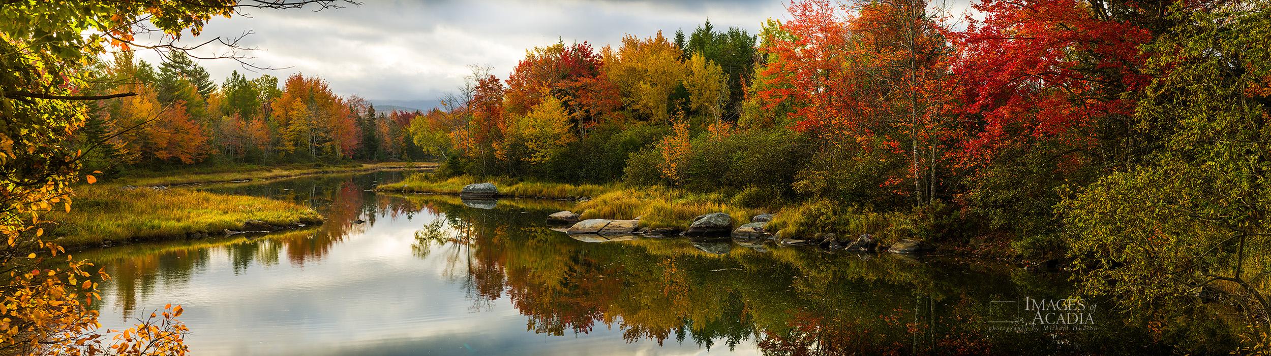 Autumn Foliage, Northeast Creek, Mount Desert Island