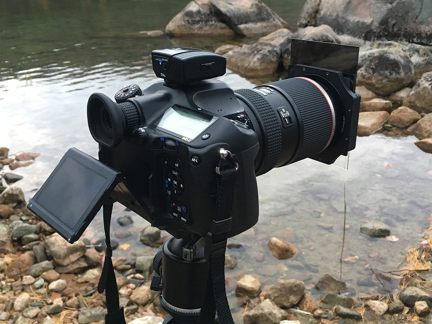 The Pentax 645Z in action at Jordan Pond