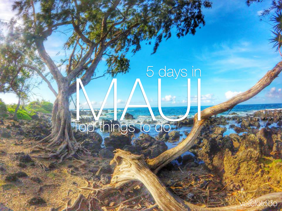 Why Maui? Hanna Road has it all