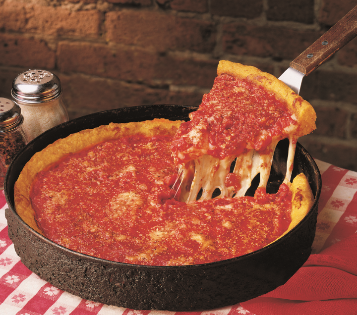 """""""Image found in google""""    I tried the one at Gino's East Pizza and was un  believable. The place is unique, quite an experience!"""
