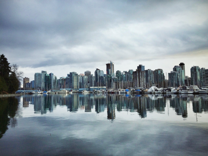 Are you ready for a big walk around Stanley Park drive? if not, you can just drive or bike it. This would be your first stop. Great city skyline views from here!