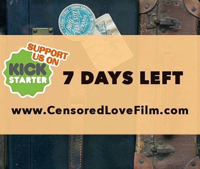 🇺🇸 LAST DAY for the Matching Challenge and $2,000 to  go! Help us get the most out of our matching donor!! Pledge at www.CENSOREDLOVEFILM.COM --- Thanks! 🇪🇸ULTIMO DIA para la campaña de Matching Donor y todavía podemos conseguir $2,000 mas de esta persona.  AYUDANOS a conseguir el tope ofrecido aportando tu granito de arena en www.CENSOREDLOVEFILM.COM -- Gracias!! . . . . . #friday #censoredlovefilm #finalweek #fridaymood #travelphotography #kickstartercampaign #challenge #lgbt #film #filmphotography #loveyourself