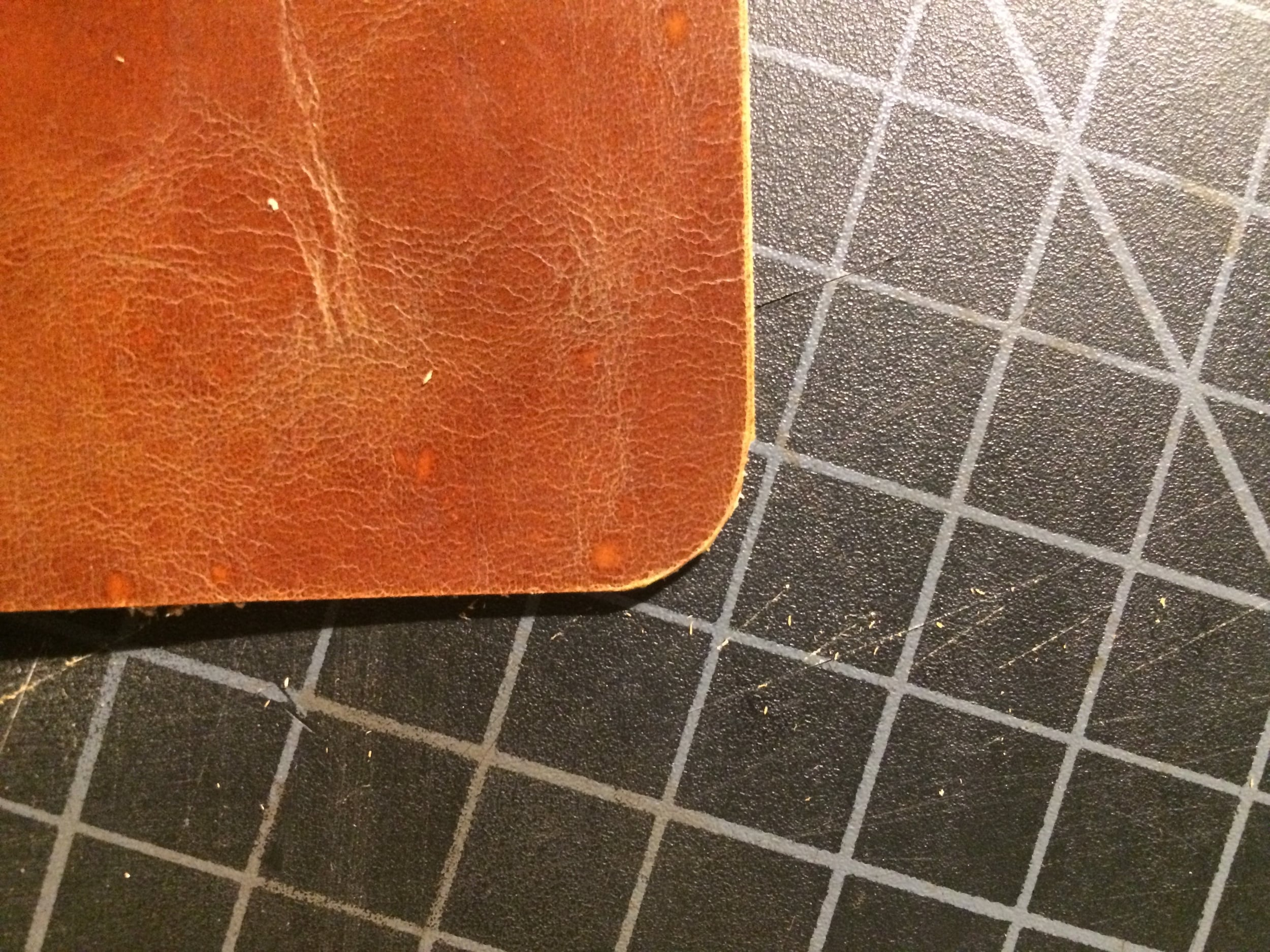 This is how the edges turned out. A little jagged, but round. Sanding will smooth this out (click to enlarge)