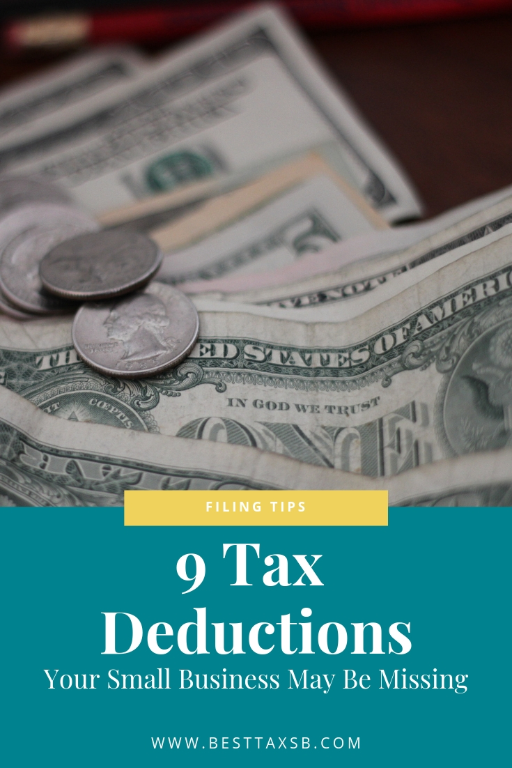 9 Tax Deductions | Best Tax Services