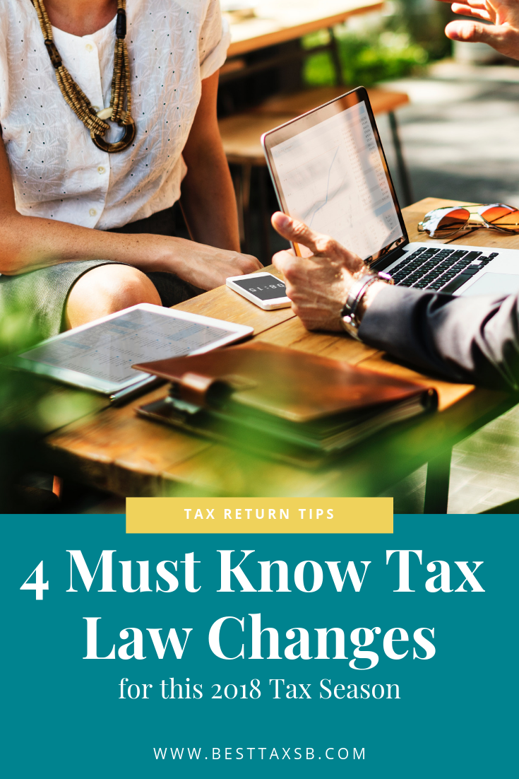 4 Must Know Tax Law Changes | Best Tax Services