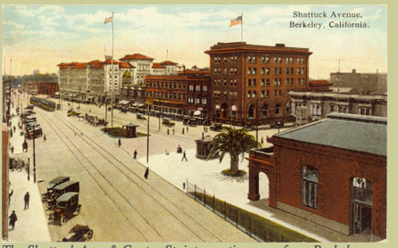 Post Card: Shot of Shattuck Ave.