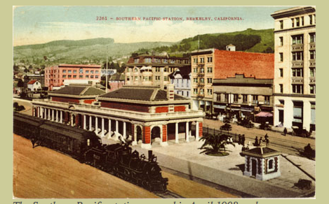Post Card: Berkeley Train Station
