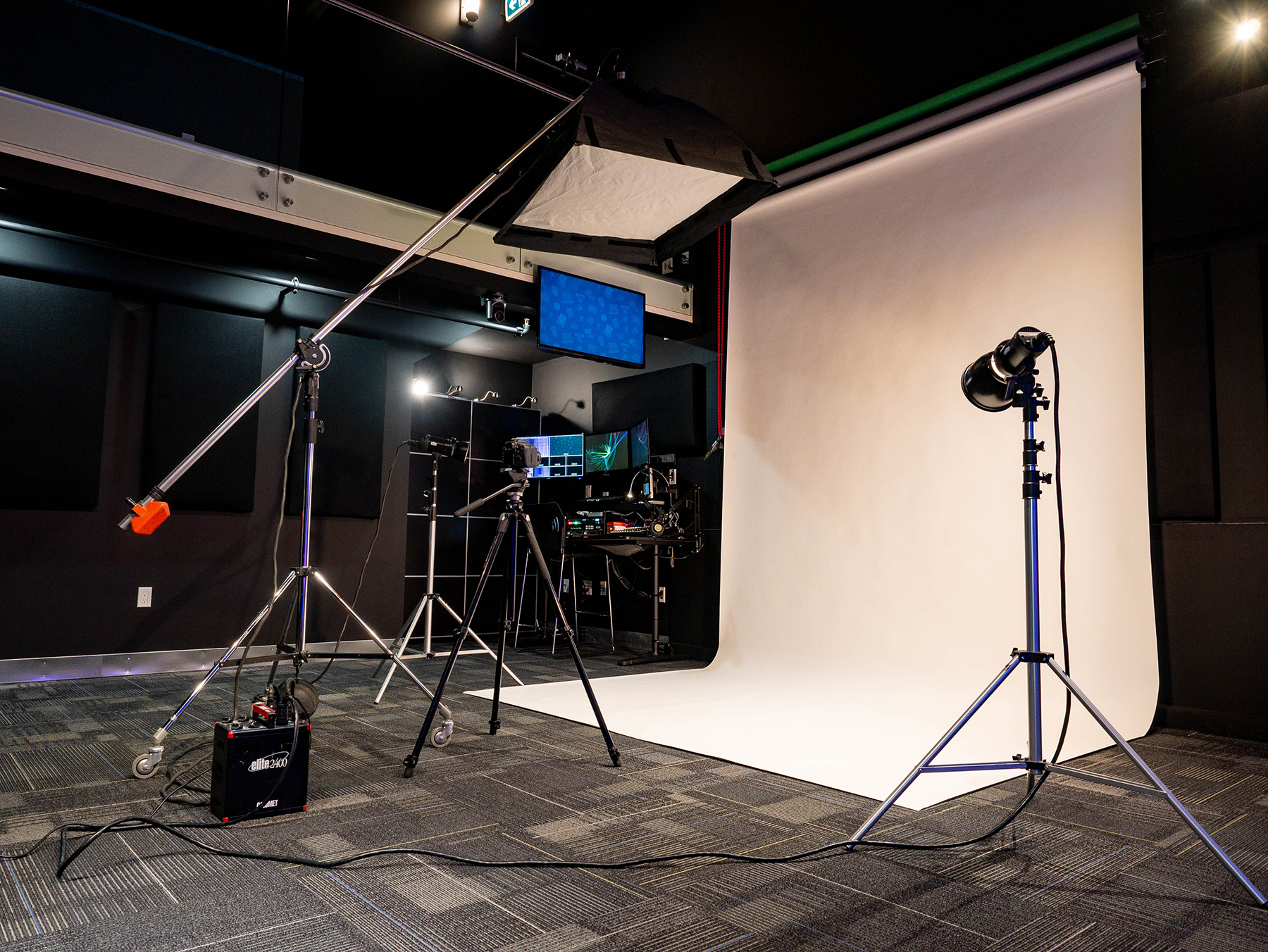 The Cowork Chilliwack Studio Theatre is ideal for photography and video shoots