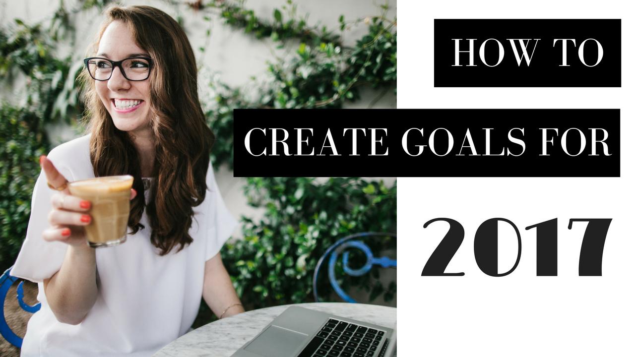 Goal Setting 2017