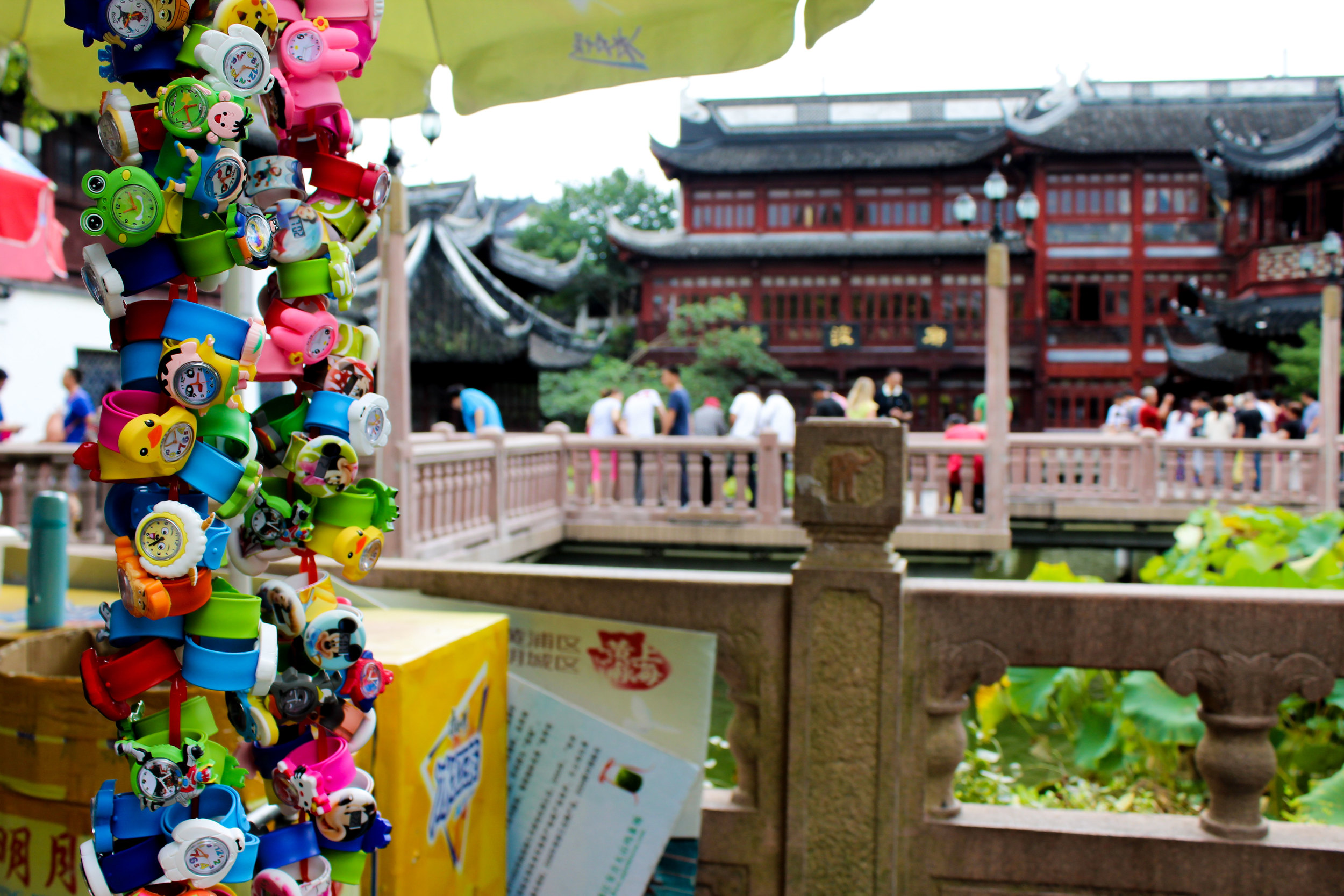 Yu gardens are a beautifully preserved moment in history, the surrounding atmosphere,not so much.
