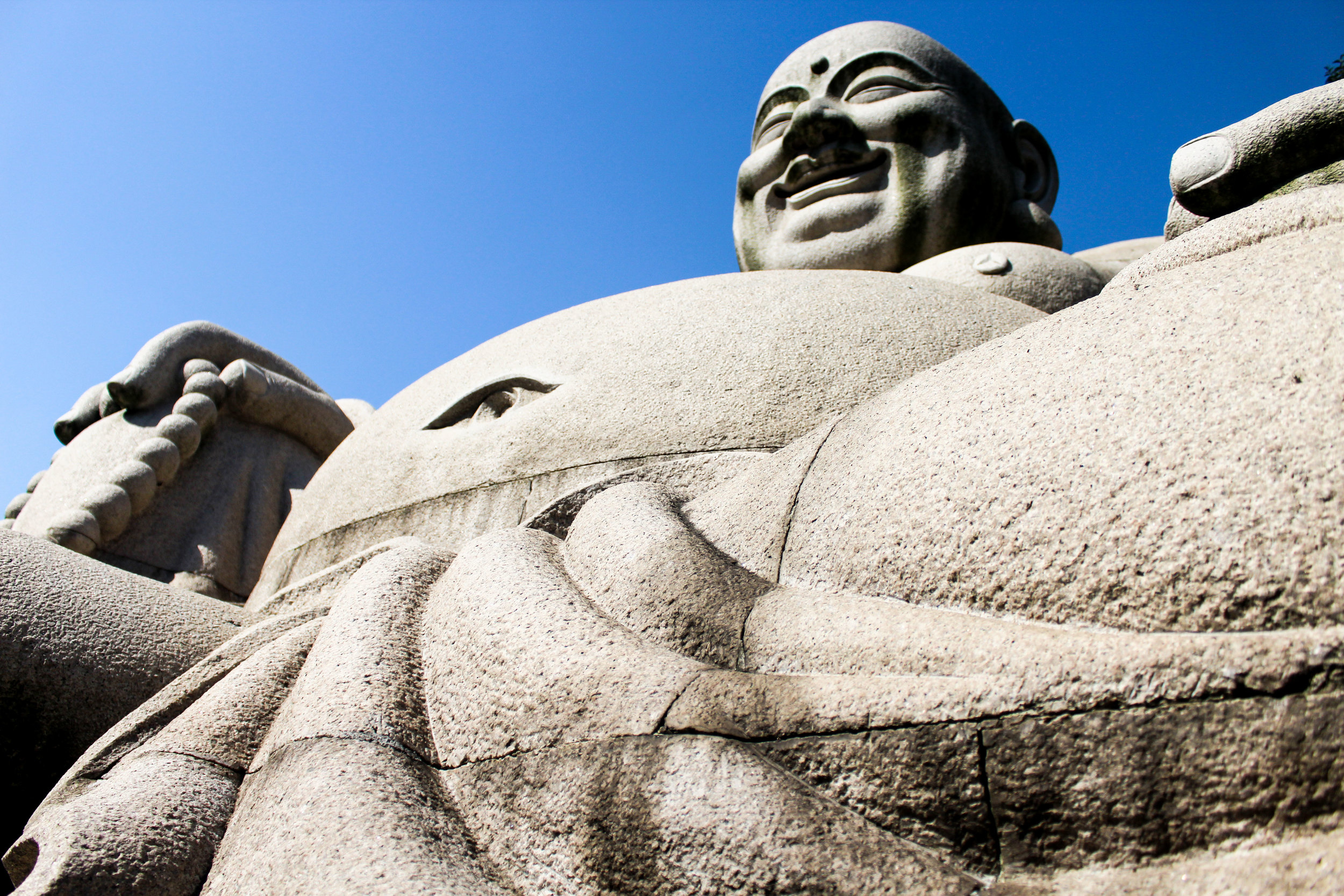 This huge Buddha in Nanjing was a big deal