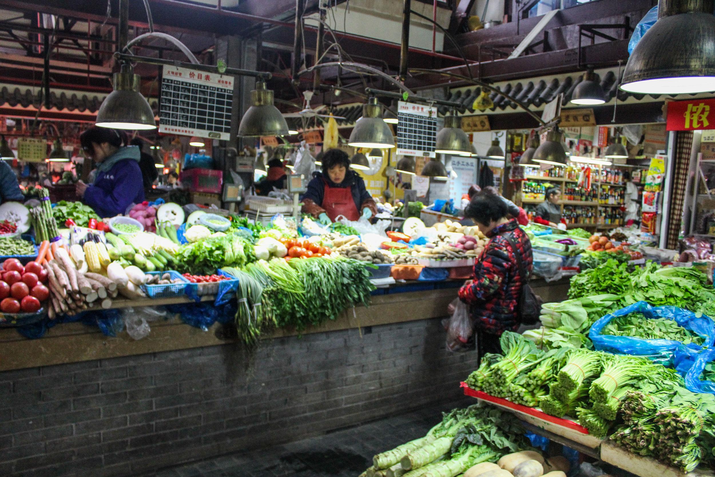I appreciate these markets and their cornucopia of produce