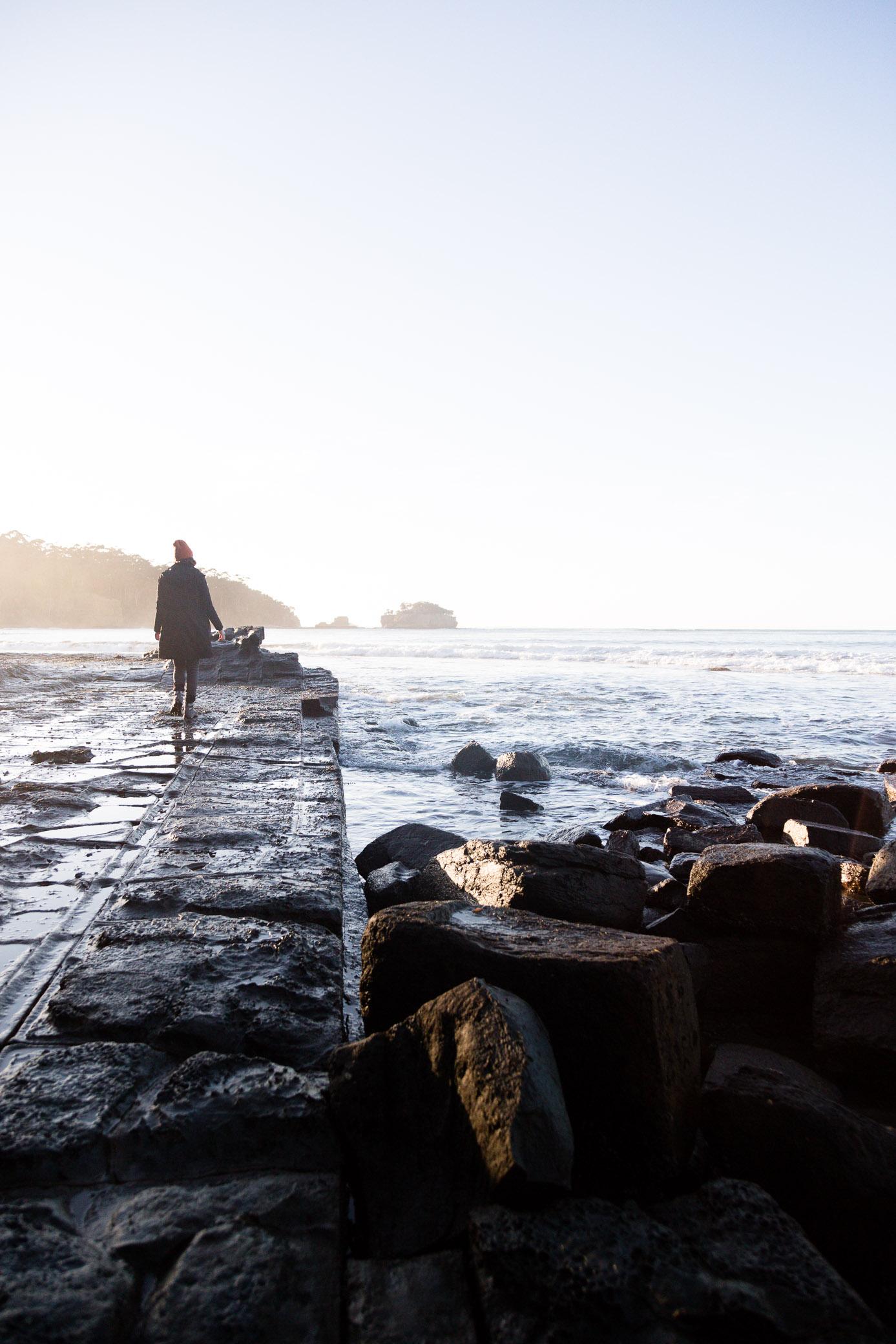 The rugged Tasman Peninsula -