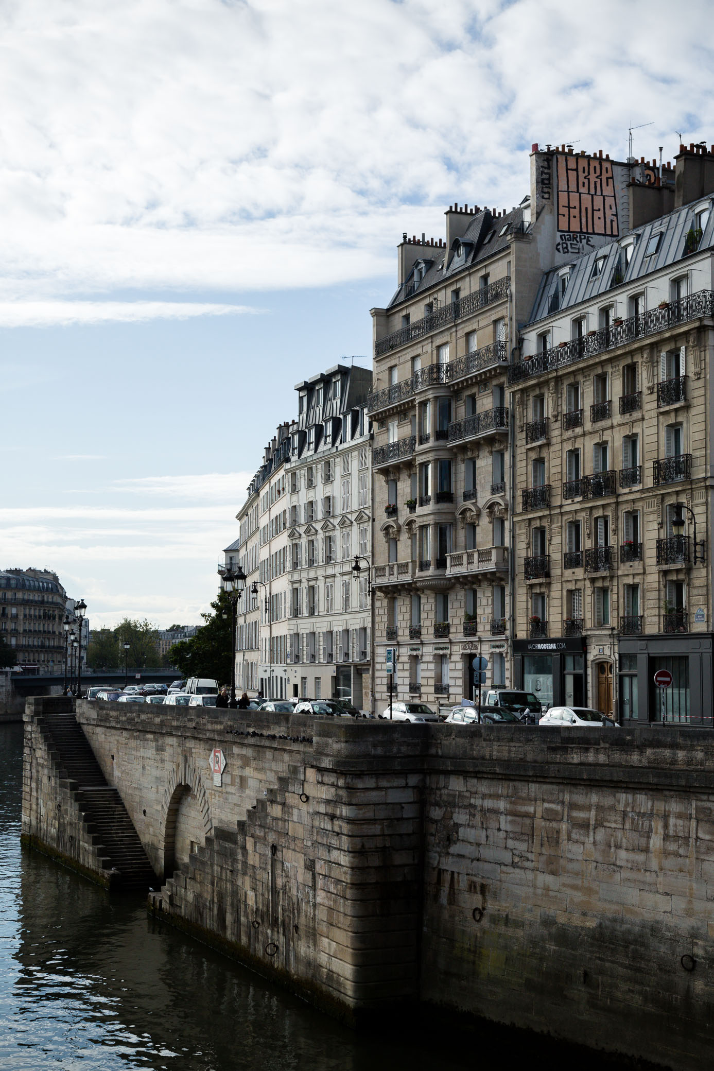 Paris somehow makes you believe anything is possible. -