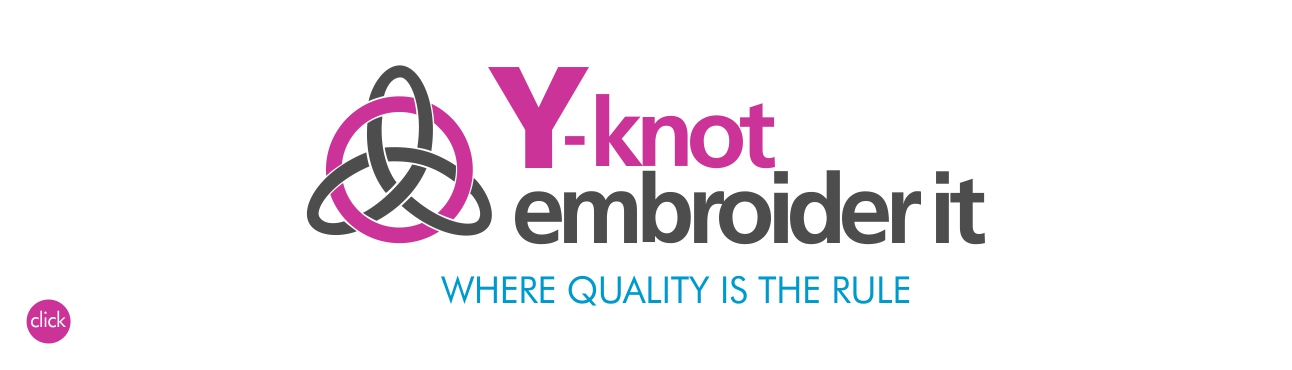 Y-Knot Embroider It, quality digitising, embroidery, corporate, work and promotional wear. Visit us a in the Helderberg, Somerset West, Cape Town.