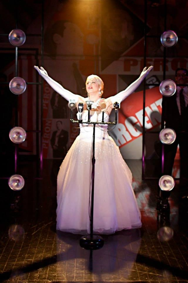 Eva Peron,  Evita  - Northern Stage