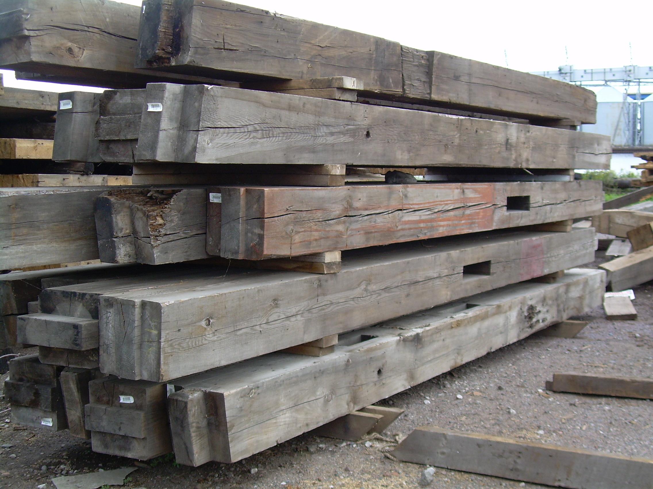 minnesota reclaimed wood timbers