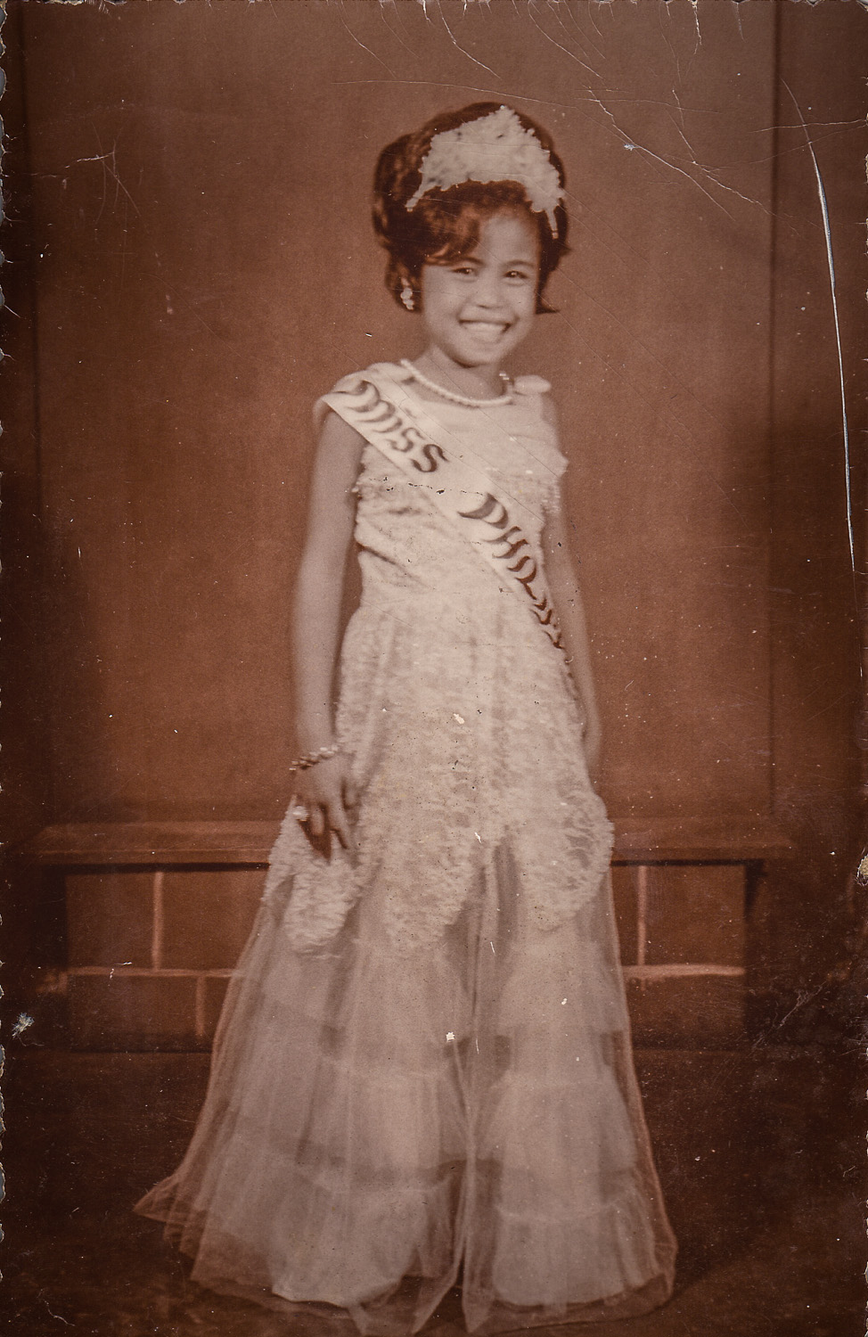 Ate Grace when she probably 6yrs old.