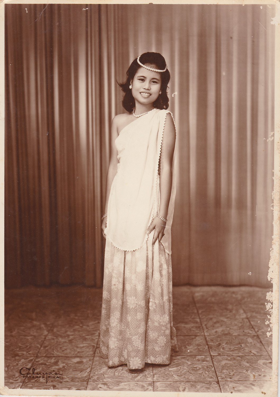 Ate Grace when she was probably in her mid teens.