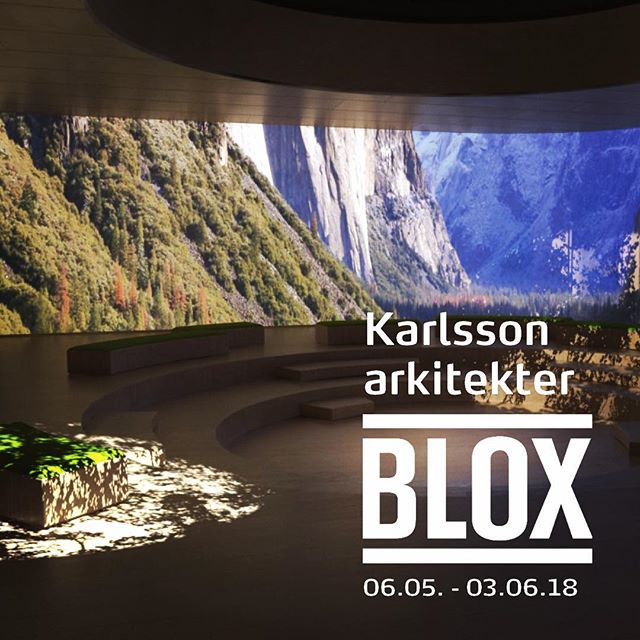 "KARLSSON ARCHITECTS @ BLOX! Go and see the exhibition at the Trappegalleriet @bloxkbh, where we are represented with 2 projects - ""demensx"" and ""The Universe of Senses"". We have also set VR glasses up - don't miss out the opportunity to experience both projects in 1 : 1 #karlssonark #demensx #udstilling #vrglasses #bloxcph"