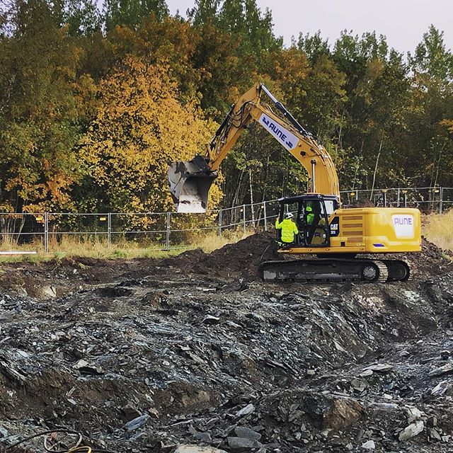 THE BIG DAY - GROUNDBREAKING of the high security Psychiatric Hospital for St. Olavs Hospital in Trondheim! #karlssonark #psychiatrichospital #trondheim #nsø #groundbreaking #stolavshospital