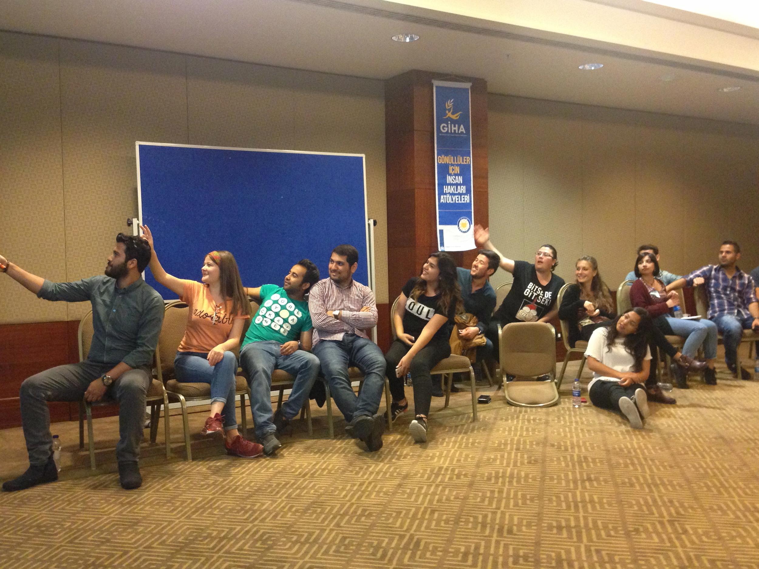 40 Attendees had come from various cities of    Turkey like  Samsun, İzmir, Giresun, Gaziantep, Antalya, İstanbul.