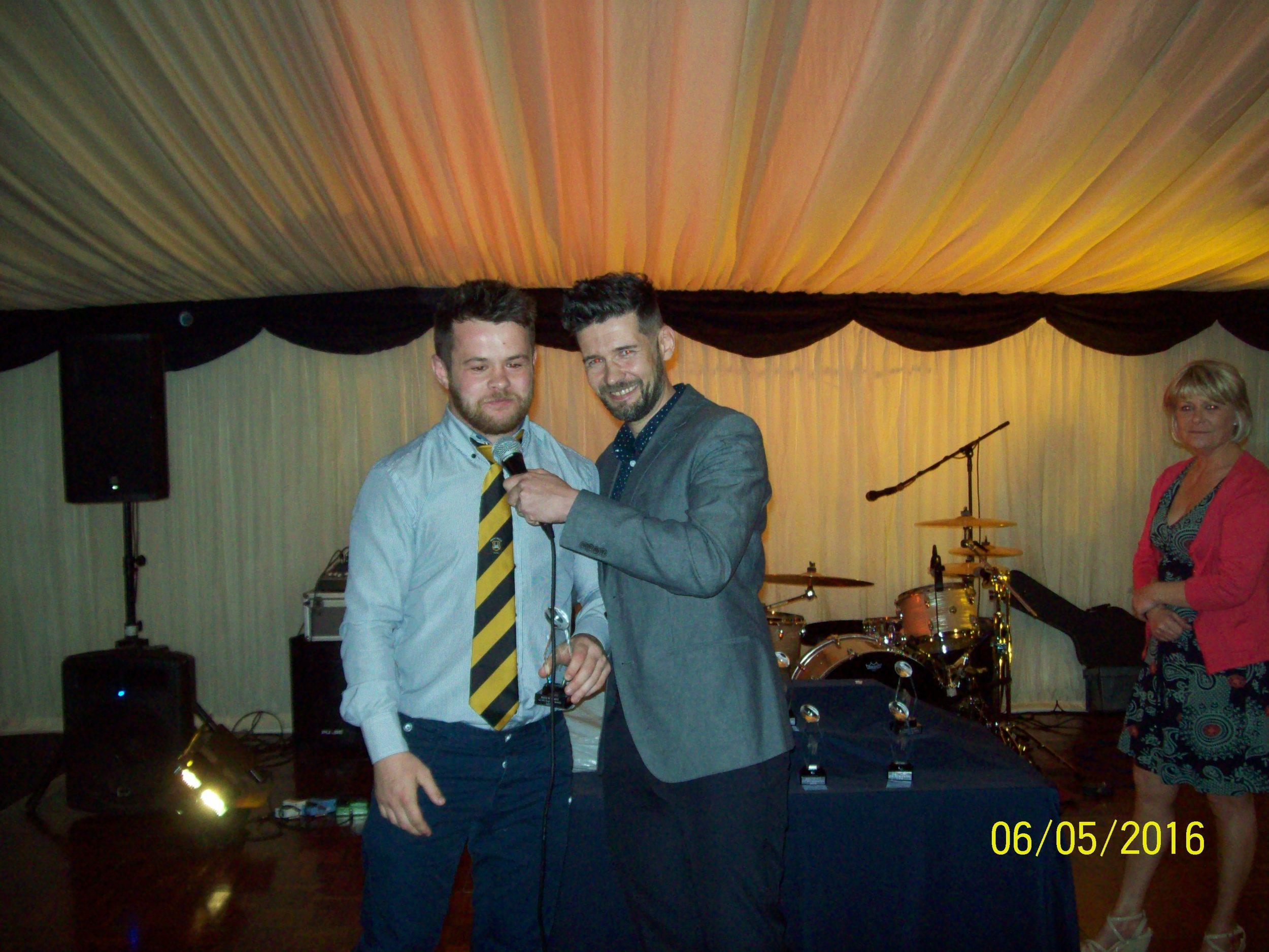 Ben Pugh, Top Try Scorer Award (with Nick Howells)