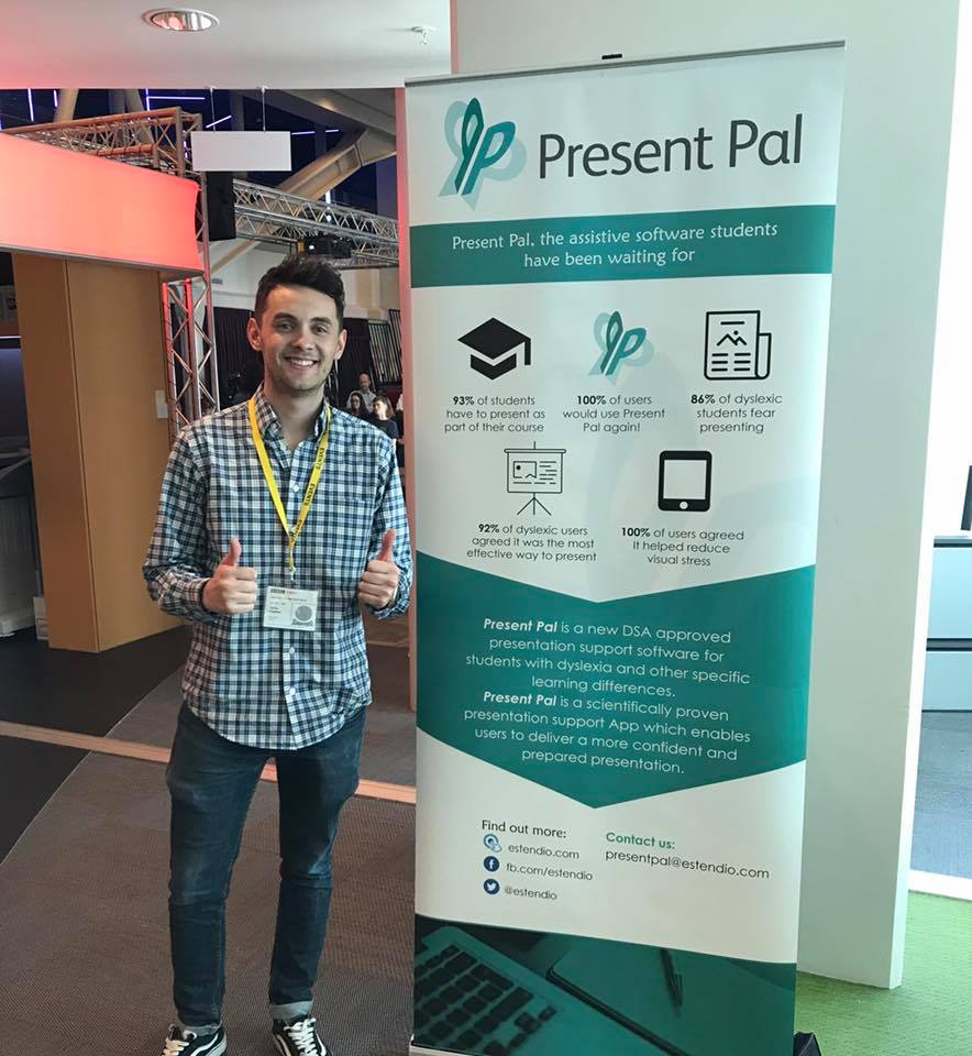 Chris was invited to the BBC's Global Accessibility Awareness Day to demo Present Pal.