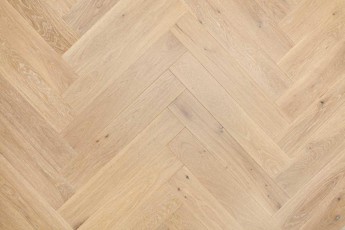 Engineered Light Oak Parquet Flooring