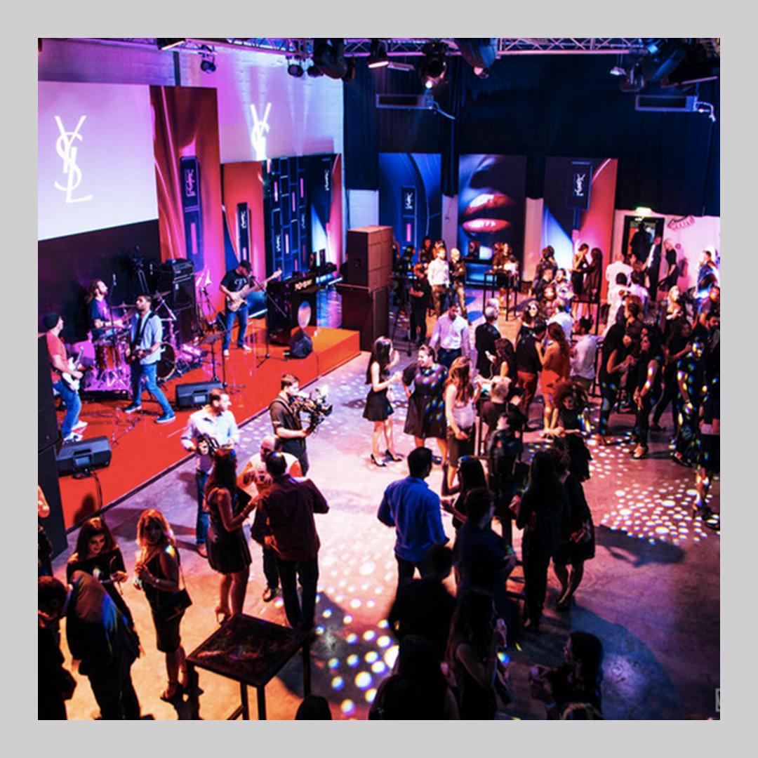 YSL 'Vinyl' Launch