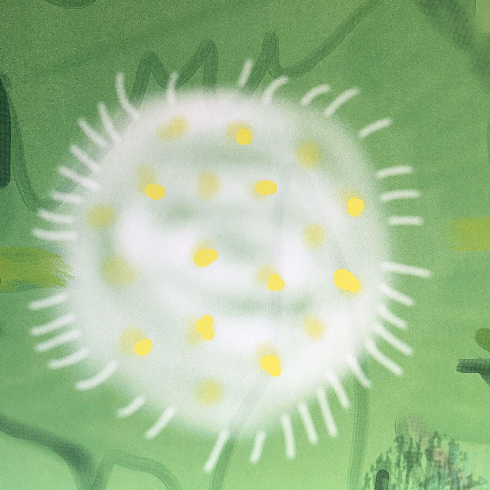 The arrival of Spring in Wolgate   Detail   Dvid Hockney